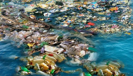 Le continent de la pollution plastique